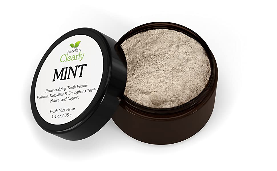 best tooth powder dirt mineralizing clay clean whitening white cavities gums sensitive teeth cavity