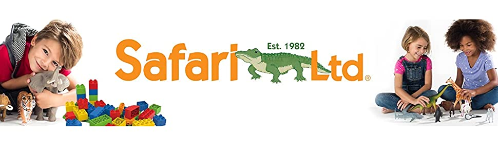Safari Ltd., Animal figurines, animal plastic toys