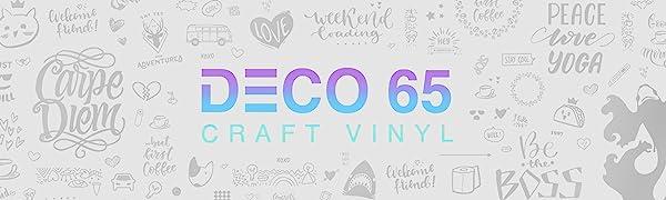 DECO65 CRAFT VINYL