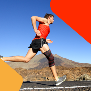 running uflex knee sleeve