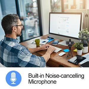 Built-in Noise Reducing MIC