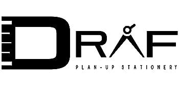 DRAF architect ruler set plan up stationery logo