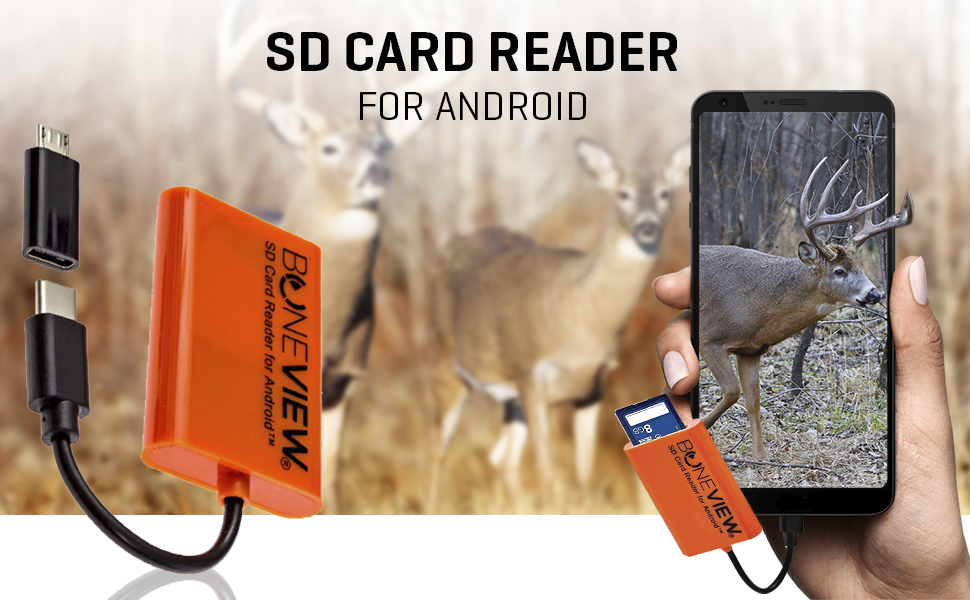 deer hunter gear hunting accessories sd card game cameras reader andriod pohne phone type c galaxy