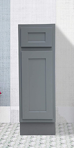 single right offset vanity base cabinet perfect small bathroom storage