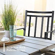 metal swivel patio chairs