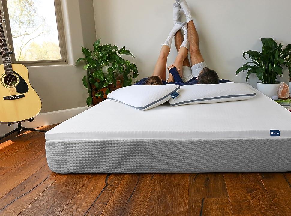 organic latex mattress topper certified GOLS GOTS bed pad natural foam soft queen king twin healthy