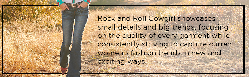 rock and roll cowgirl showcases small details and big trends