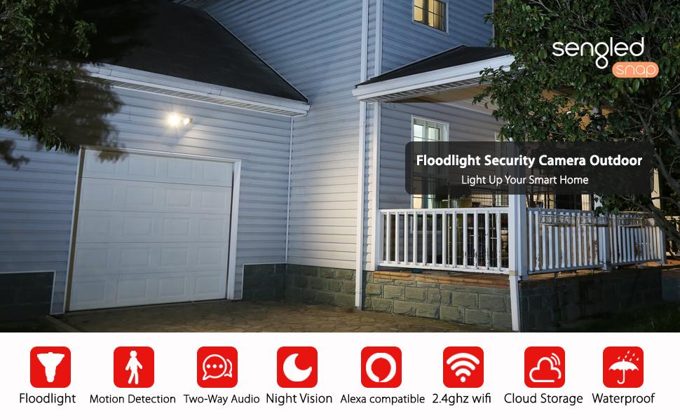 Sengled Floodlight security camera