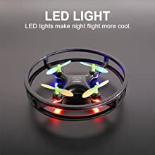 mini drone with lights