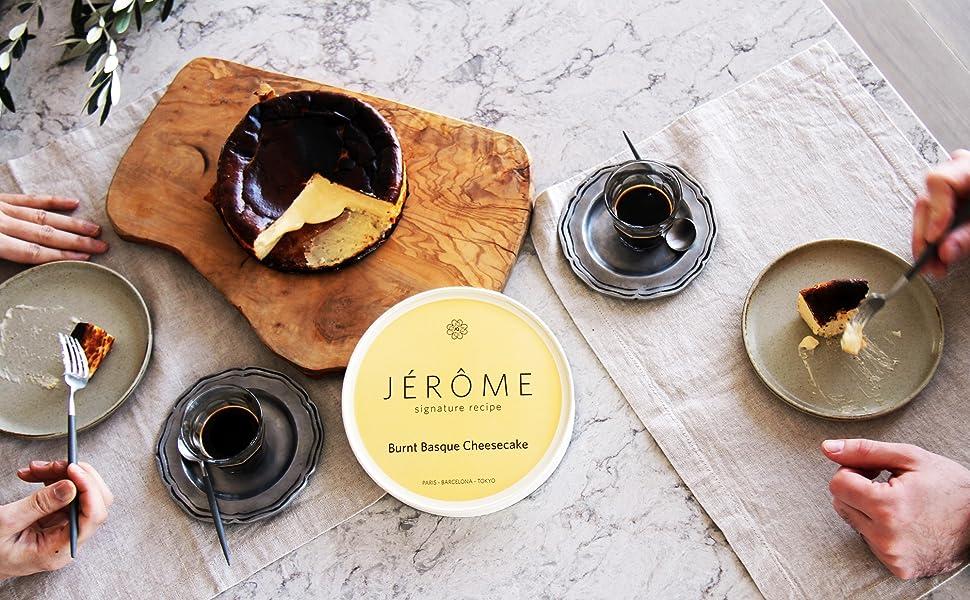Jeromeバスクチーズケーキ