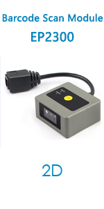EP2300 barcode scanner module