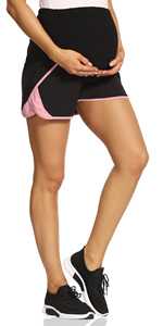 maternity short maternity workout maternity workout maternity summer clothes women's gym shorts