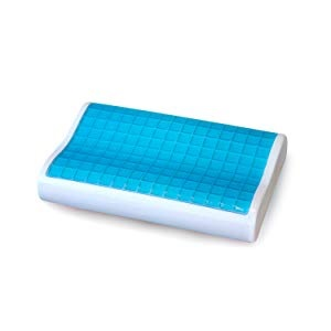 cooling gel contour pillow