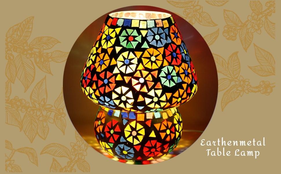 earthenmetal table lamp