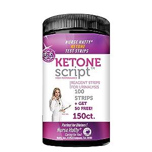 Ketone Script bottle