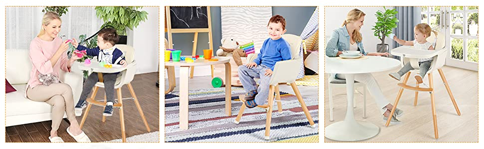 toddler high chair for home, restaurant