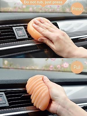 car gel cleaner car goop cleaner