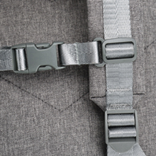 Fixed shoulder strap buckle