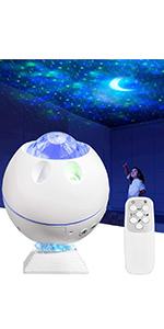 Star Projector Galaxy Light 43 Color