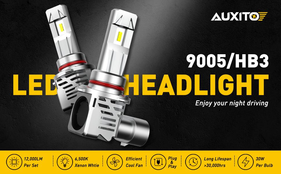 9005 led headlight bulb