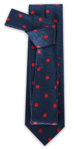 Polka Dots Tie Mens Necktie