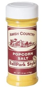BallPark Style Butter Salt Amish Country Popcorn Seasoning Topping