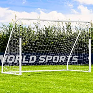 FORZA Match Portería de Fútbol de PVC Impermeable (3m x 2m ...