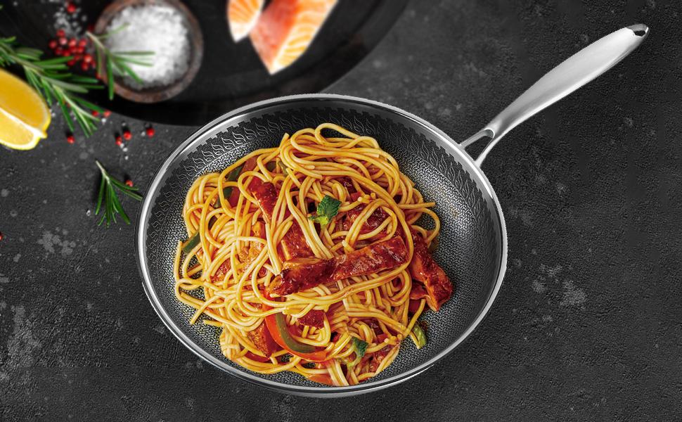 frying pan for pasta