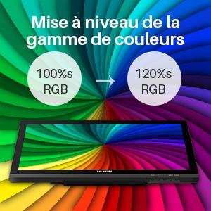 120% sRGB Color Gamut
