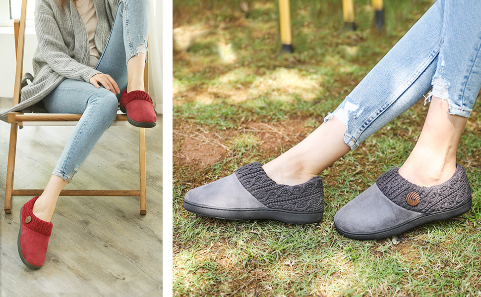 womens house shoes slippers