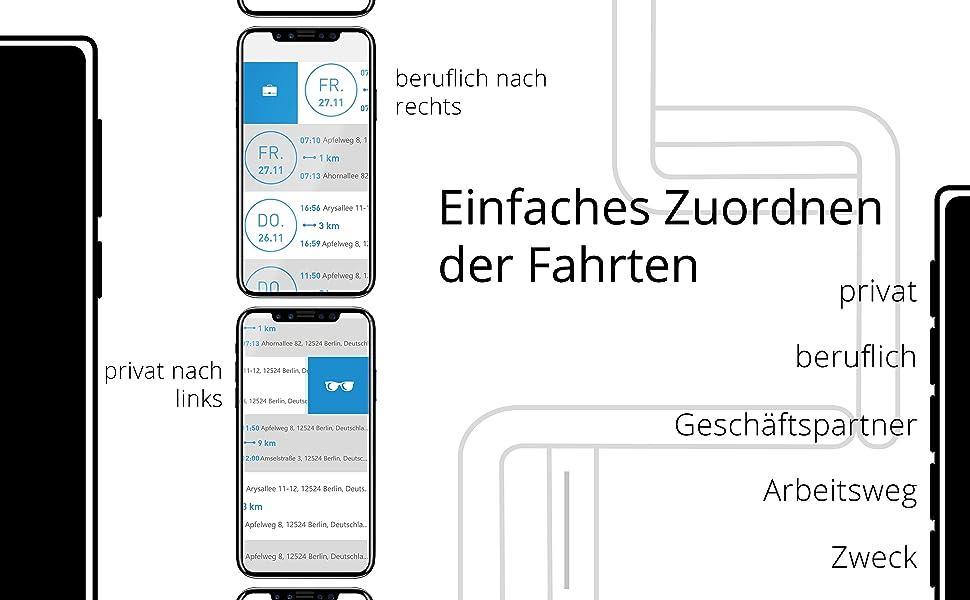 Sicherheit, Fahrtenbuch-Software, Fahrtenbuch Bearbeitung im Web
