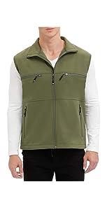 12145 softshell vest
