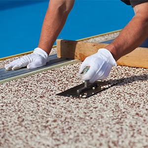 Kiesboden Epoxidharz Bindemittel Kieselboden Steinboden HPBM-1500 Steinteppich Bindemittel f/ür 50kg Marmorkies