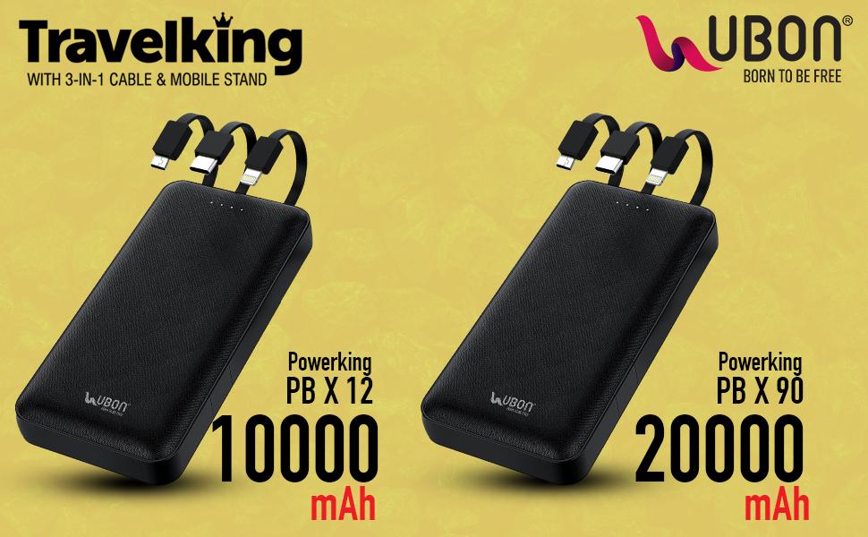 3 in 1 Powerbank 20000 mAh Powerbank
