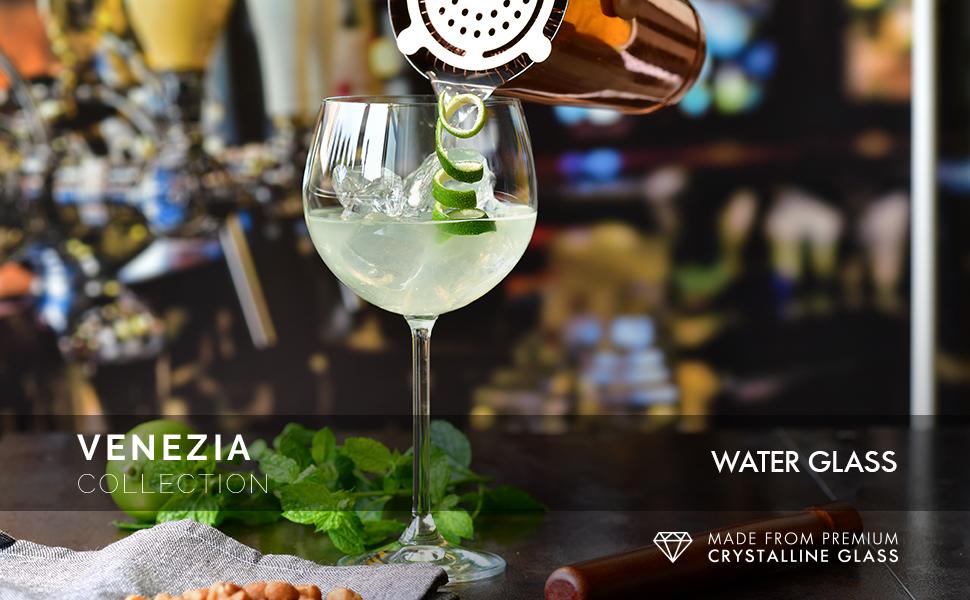 Krosno gin glasses s Venezia