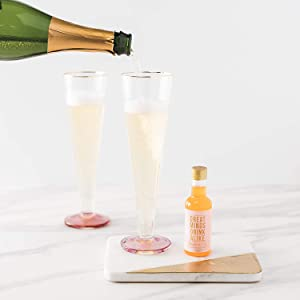This fun gift ideas for women cocktail gift set has cocktail mixers that make great party favors
