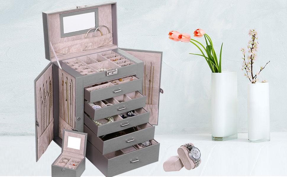 Christmas gift jewelry box