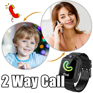 Kids Watch Phone 2Ways Call Boys Girls Phone Kids Smartwatch Phone GPS tracker watch tool