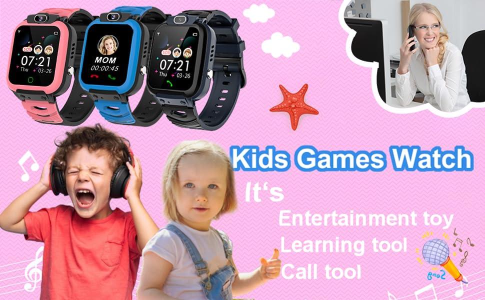 kids smart watches girls boys