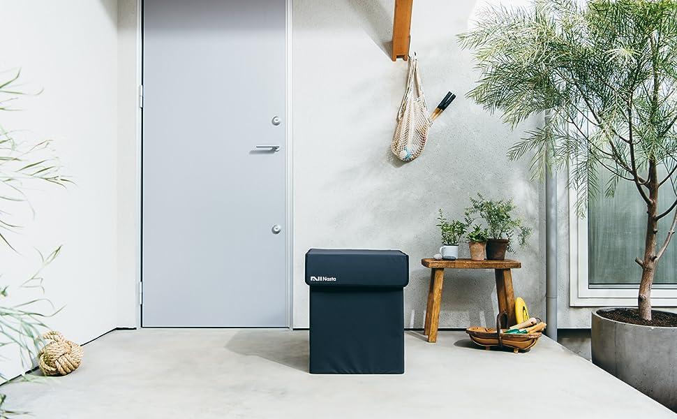 宅配ボックス Nasta Box SOFT ナスタ ボックス ソフト 折りたたみ 防水 防滴 大容量