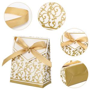 Gift Box 100*Luxury Rustic Wedding Party Favor Liebesherz Candy Box Süßer Kuchen