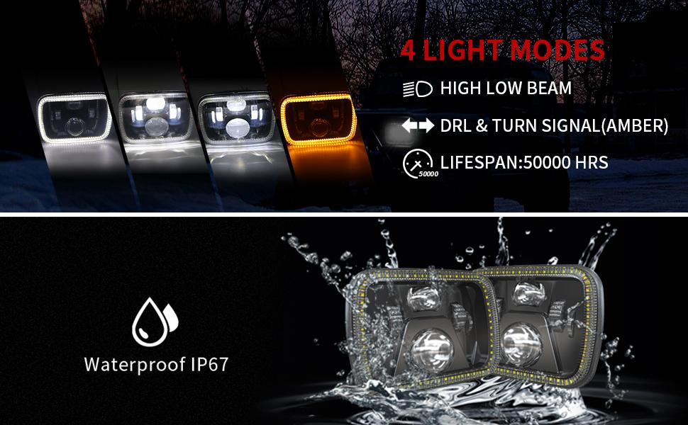 jeep yj headlights