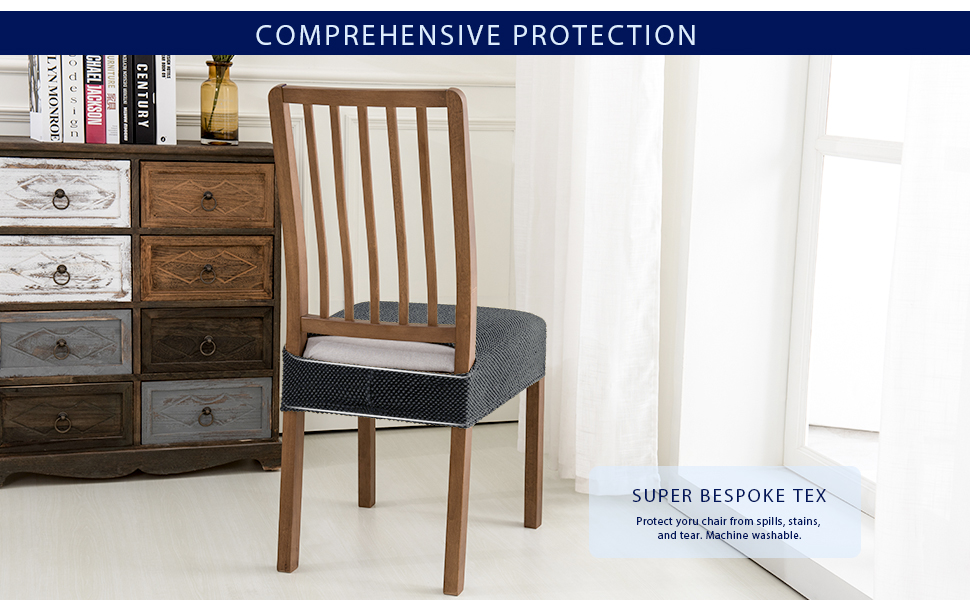 dining chair seat slipcovers