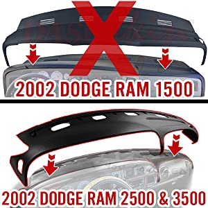 dodge ram dash cover
