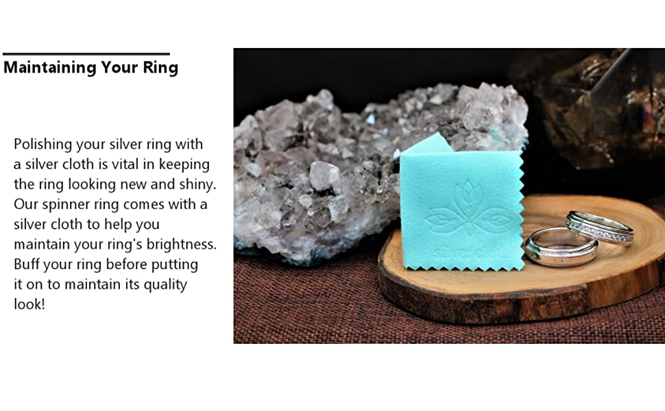 silver cloth for rings