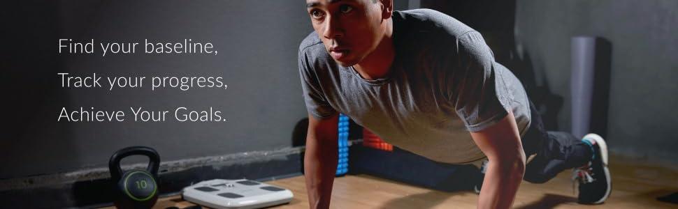 InBody, H20N, workout, goals, analyzer