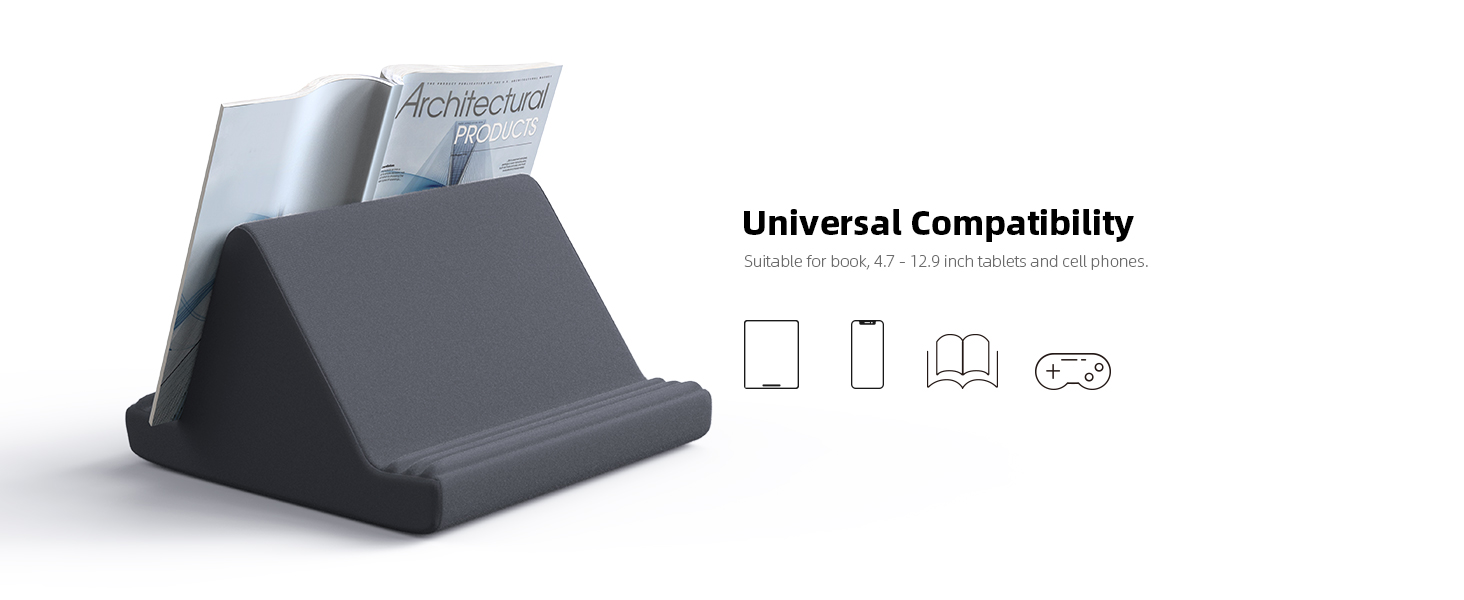 pillow tablet stand