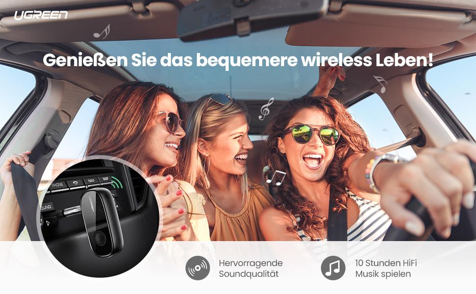 Genießen Sie das bequemere wireless Leben!