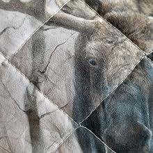 moose quilt design