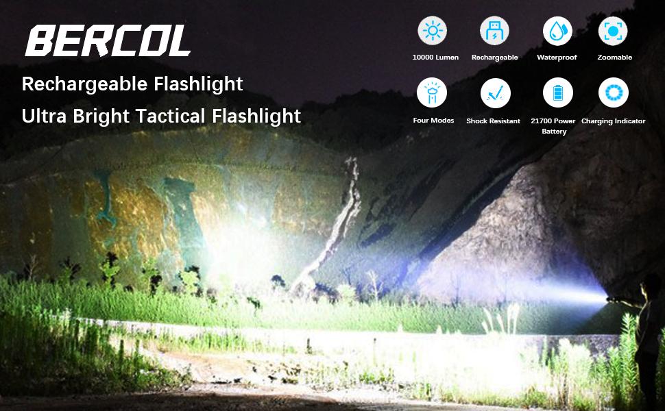 flashlights high lumens